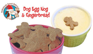 PAWsweet Dog Bakery EggNog Gingerbread