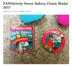SA Flavor Fiesta medal PAWsitively Sweet Bakery