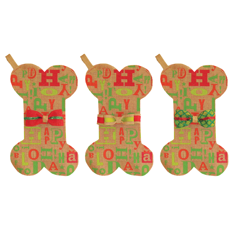 Holiday Stocking with Treats - Happy Holidays
