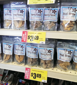 HEB PAWsitively Sweet Bakery dog treats