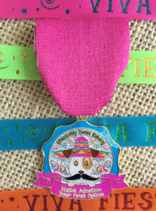 PAWsitively Sweet Bakery 2016 Fiesta medal