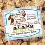 Pawsitively Sweet Bakery Alamo Golden Ale dog treats