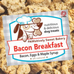 Pawsitively Sweet Bakery Bacon Breakfast dog treats