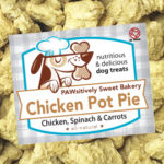 Pawsitively Sweet Bakery Chicken Pot Pie dog treats