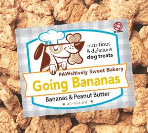 Pawsitively Sweet Bakery Going Bananas dog treats