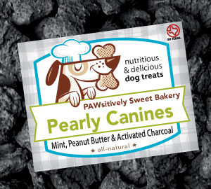 Pawsitively Sweet Bakery Pearly Canines dog treats