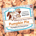 Pawsitively Sweet Bakery Pumpkin Pie dog treats
