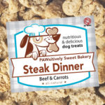 Pawsitively Sweet Bakery Steak Dinner dog treats