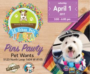 SA Urban Pets Fiesta Pins Pawty 2017