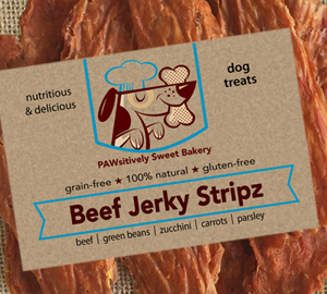 jerky stickz beef pawsitively sweet bakery