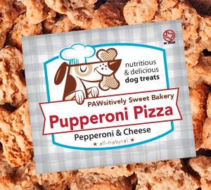 pupperoni pizza dog treats