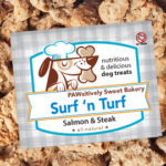 Surf 'n Turf dog treats