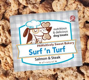 Surf 'n Turf dog treats