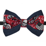 pawsitively sweet bakery skull bowtie