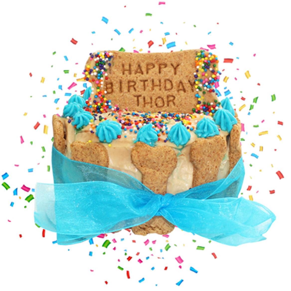 PAWsitively Sweet Bakery Boy Dog Birthday Cake