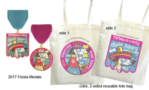 2017 Fiesta Medals & Tote Bag