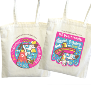 Paw Sweet Bakery Fiesta Tote Bag