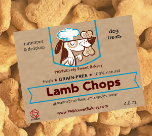 lamb chops dog treats pawsitively sweet bakery