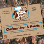 chicken liver hearts dog treats