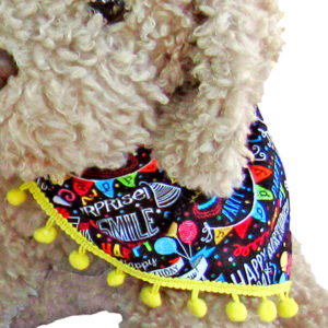 Dog Birthday Bandana PAWsitively Sweet Bakery