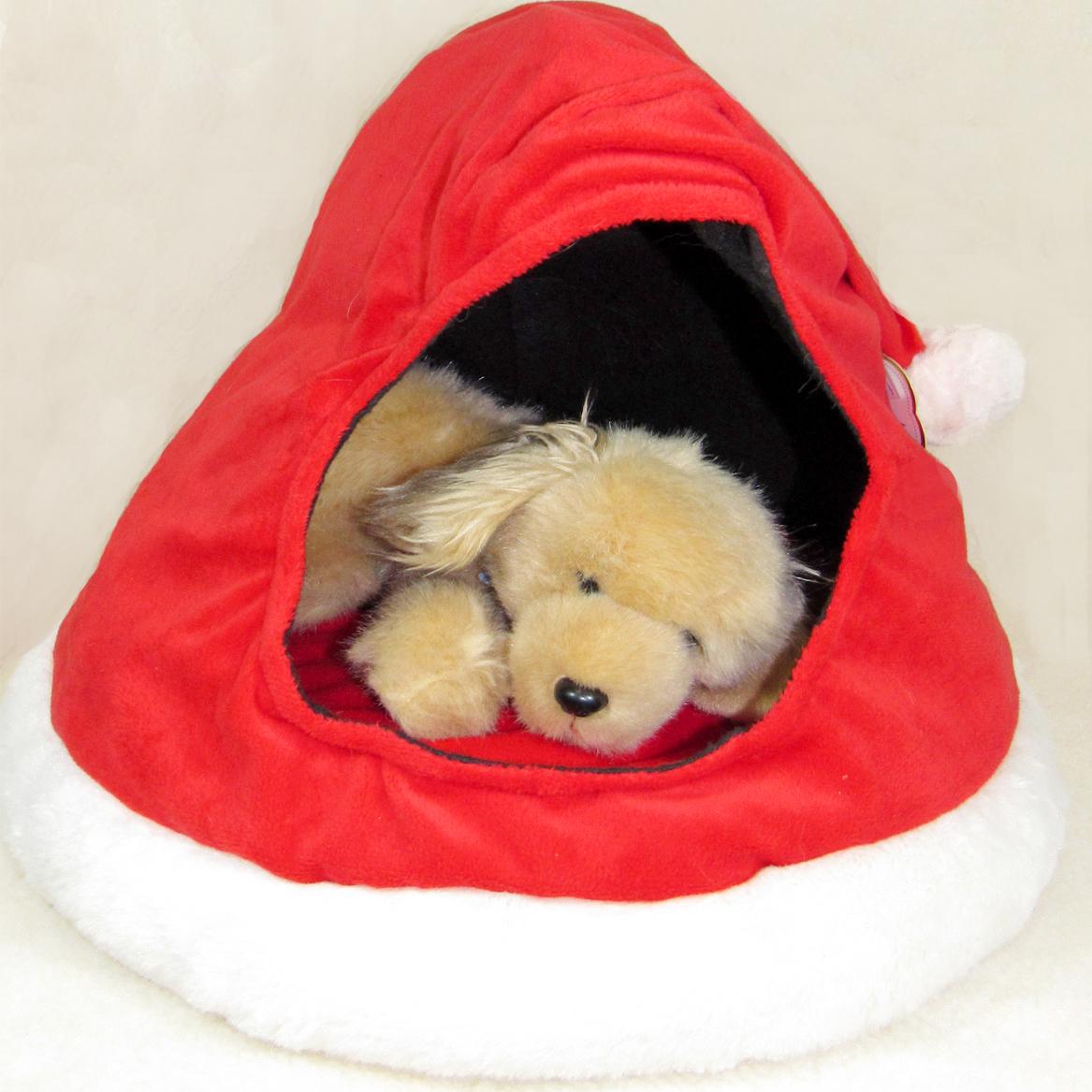 Santa Hat Pet Bed