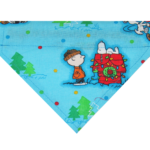 snoopy holiday dog bandana