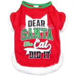 Dear Santa Dog Shirt