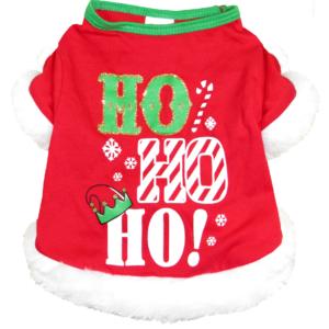 Ho Ho Ho Dog Shirt