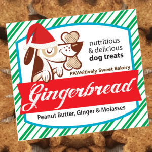 gingerbread treats label