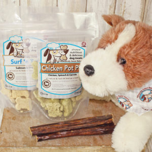 puppy treats box pawsitively sweet bakery